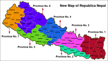 Geography and History of Nepal