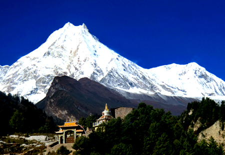 Manaslu Circuit Trek from Barprak-Laprak